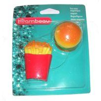 Birambeau - Magnettes fixe-notes Hamburger et Frites