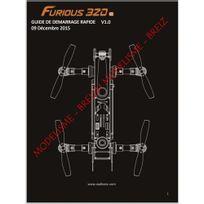 Walkera - Notice complète en Français du F320 Furious - Envoi par courrier