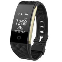 Yonis - Smartwatch Android Ios Montre Cardio Réveil Minuterie Météo Rappel Sms