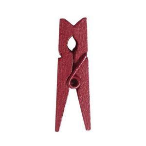 1001decotable mini pince linge bordeaux x24 pas cher achat vente articles de f te. Black Bedroom Furniture Sets. Home Design Ideas