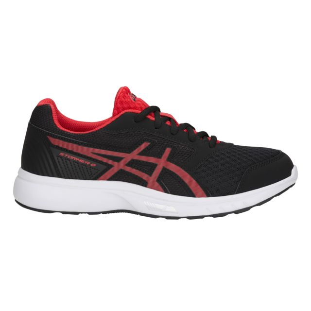 Asics Chaussures junior Stormer 2 Gs noirrouge flash
