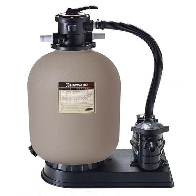 Hayward groupe de filtration 14m3 h avec pompe et filtre sable s244t8110 pas cher achat - Filtre a sable piscine pas cher ...