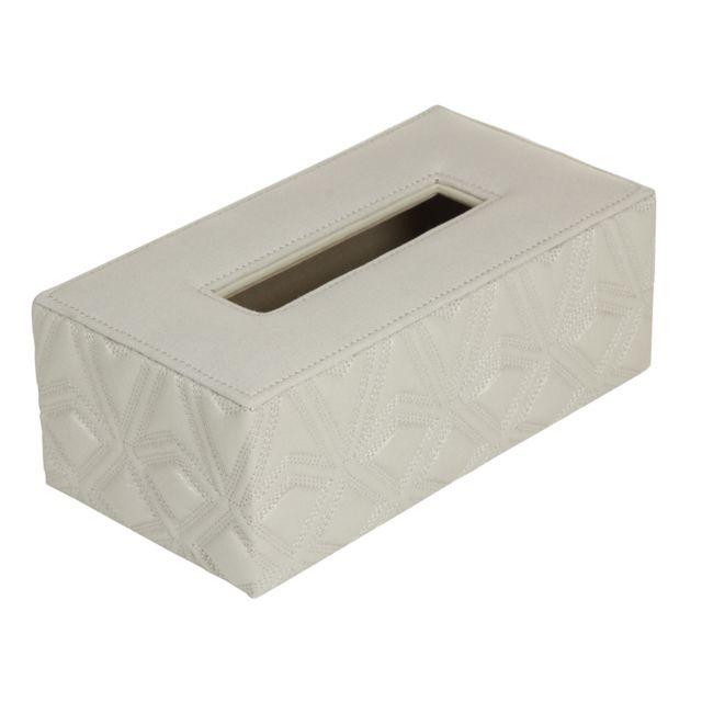 Santiago Pons Tissu box gris gravé