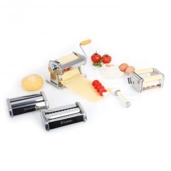 KLARSTEIN Siena Pasta Maker Machine à pâtes 3 accessoires