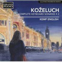 Grand Piano - Leopold Kozeluch - Intégrale des sonates pour clavier Vol. 2