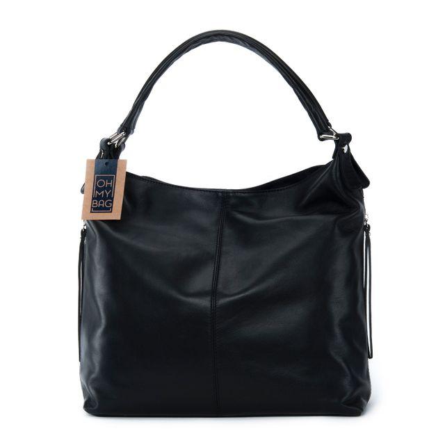 fdf7cf3e2ab Oh My Bag - Sac à main femme en cuir souple haut de gamme - Modèle ...