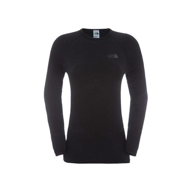 3f545cadea357 The north face - Tee-shirt The North Face Hybrid Crew Neck manches longues  noir