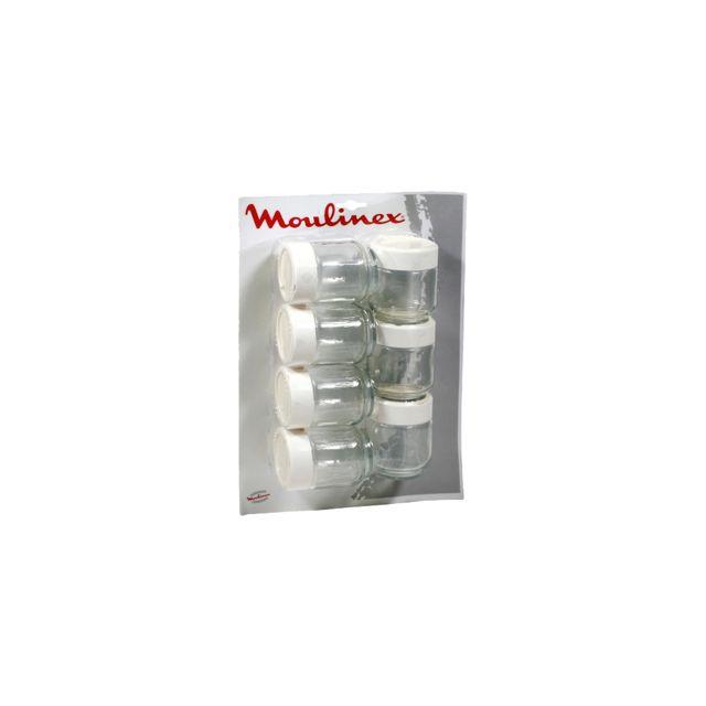 MOULINEX - lot de 7 pots pour yaourtière - a14a03