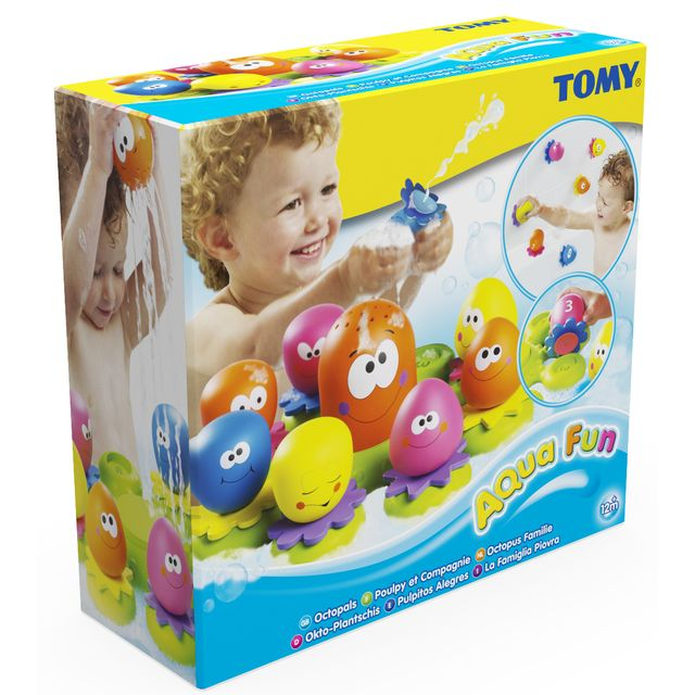 TOMY - Jouet pour le bain Poulpy et Compagnie - E2756 - pas cher ...
