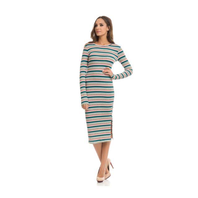 77db4757d492 Tantra - Robe Eva Femme Collection Automne Hiver Vert - pas cher ...
