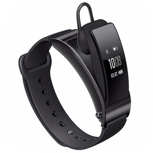 63c2acaa9b114c Wewoo - Bracelet connecté noir pour Android   iOS, Fitness Tracker    Podomètre   Rappel