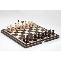 Prime Chess - 35.6cm Neuf Fabriqués À La Main perle Bois Set D'échecs 35cm x 35cm