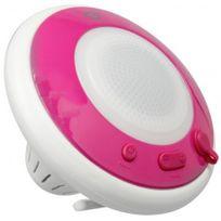 Conceptronic - Enceinte flottante tanche sans fil, pink