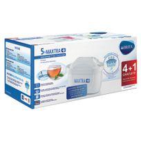 BRITA - Pack de 4 cartouches + 1 gratuite MAXTRA - 1030941 - Blanc
