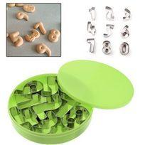 Yonis - Set 9 découpoirs cuisine numériques petit sablé biscuit emporte pièces