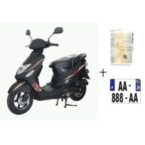 Scooter Cka Gtrb 50cc 4T+ Immatriculation
