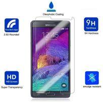 Cabling - Samsung Galaxy Note 4 Protection écran en Verre Trempé , Bingsale Film Protection d'écran en Verre Trempé pour Samsung Galaxy Note 4/N9100 Samsung Galaxy Note 4