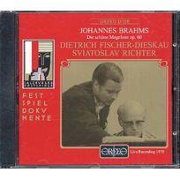 Orfeo d'Or - Johannes Brahms - La belle Maguelonne, Lieder