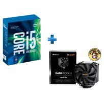 INTEL - Ventirad pour processeur BE QUIET Dark Rock 3 + Processeur Core i5-7600K 3.80GHz LGA1151 - KABYLAKE