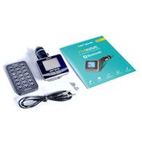 Campus - Transmetteur Fm Bluetooth Fm Wave Sd Usb minijack fonction Rds télécommande