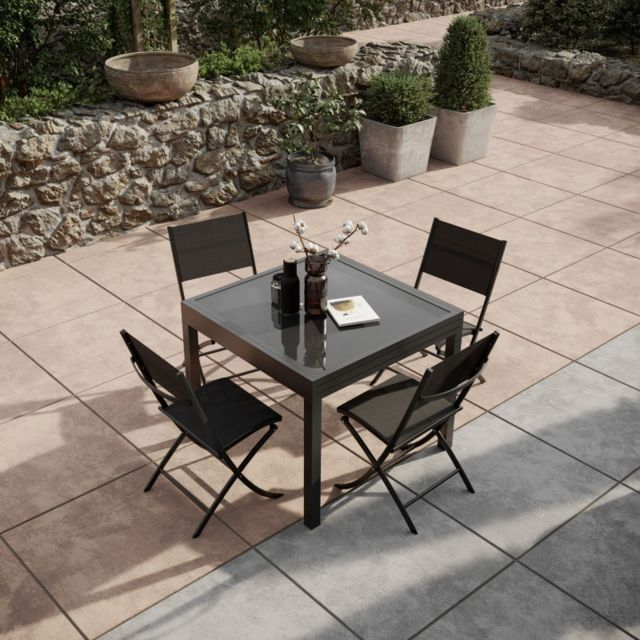 Paris Jardin De Extensible Aluminium Table Avril 90180cm4 80OywPmvnN