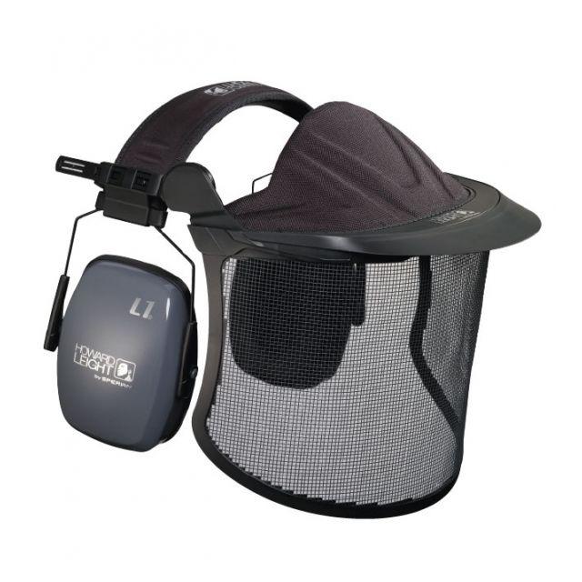 Howard Leight - Kit de protection auditive et visage pour jardinier