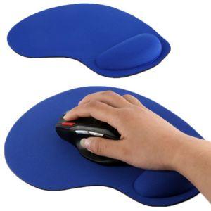 yonis tapis de souris repose poignet de qualit ergonomique ultra fin bleu pas cher achat. Black Bedroom Furniture Sets. Home Design Ideas