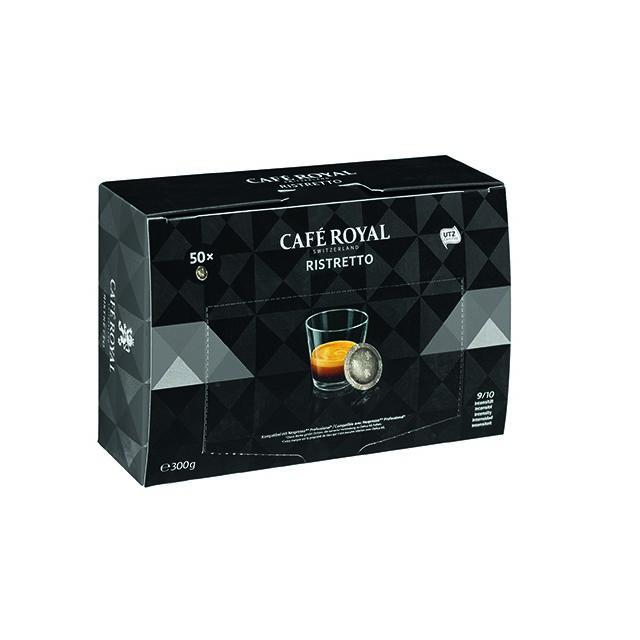 CafÉ Royal Dosettes de café Ristretto - Boîte de 50