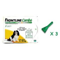 Frontline - Combo Chien 2/10KG 3X0.67ML