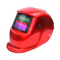 Masque De Protection Pour Soudure électrique Variable Automatique Solaire Léger Rouge