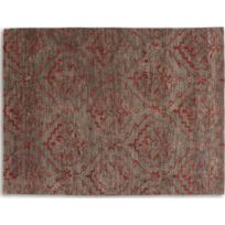 Inside 75 - Basanti Tapis laine rouge taupe 170x240 cm