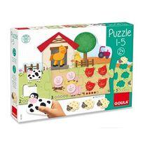 Jumbo - Diset - Puzzle géant ferme