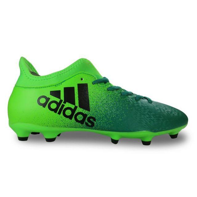 Adidas Chaussure de football x 16.3 Vert pas cher Achat