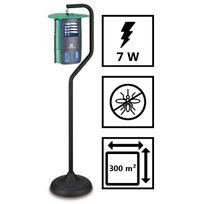 Plein Air - Lampe piege anti moustique Garden évolution - Nouvelle génération - Champ action 300 m2