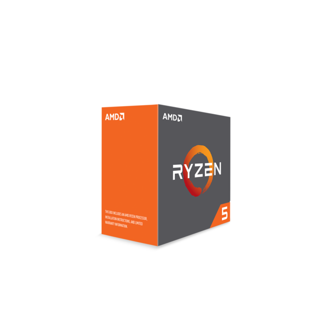 AMD - Processeur Ryzen 5 1600, + Wraith Spire 65W cooler