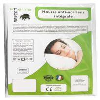 Pharmahousse - Housse anti-acariens intégrale pour oreiller – Qualité médicale