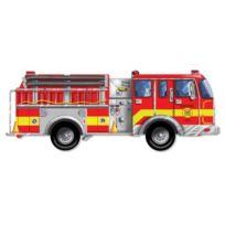 Melissa et Doug - Puzzle Giant Fire Engine Floor 24 Pièces