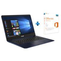 ASUS - ZenBook Plus - UX430 - Bleu métal + Office 365 Personnel