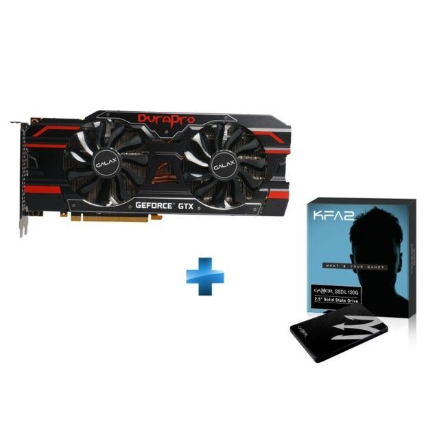 KFA2 GTX1080-TI- DURAPRO + SSD Gamer L 120GB TLC - PHISON S11 dans