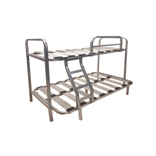 befara lit superpos 3 places family noir 105 x 180 90 x 180 nc pas cher achat vente. Black Bedroom Furniture Sets. Home Design Ideas