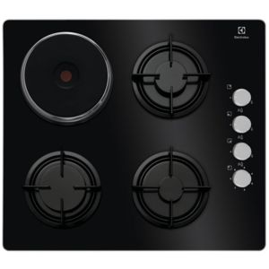 electrolux arthur martin electrolux table de cuisson mixte 58cm 4 feux noir egl6082nek. Black Bedroom Furniture Sets. Home Design Ideas