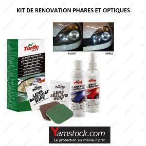 carpoint kit de r novation optique de phare turtle wax pas cher achat vente accessoires d. Black Bedroom Furniture Sets. Home Design Ideas