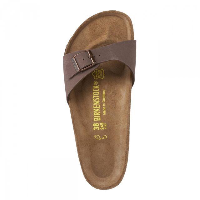 birkenstock mules madrid men mocca marron 44 pas cher achat vente sandales sabots. Black Bedroom Furniture Sets. Home Design Ideas