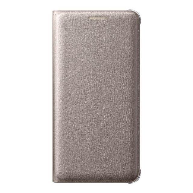 Samsung Flip wallet Galaxy A3 2016 - Or