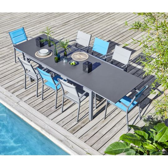 Table Canberra extensible 199/298 cm à Prix Carrefour