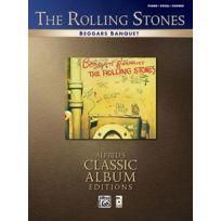 Alfred Publishing - Partitions Variété, Pop, Rock. Rolling Stones The - Beggars Banquet - Pvg Piano Voix Guitare