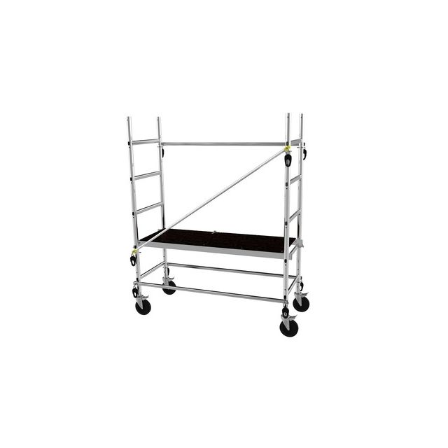 centaure echafaudage roulant aluminium 4 7 m cent347703 pas cher achat vente echafaudages. Black Bedroom Furniture Sets. Home Design Ideas