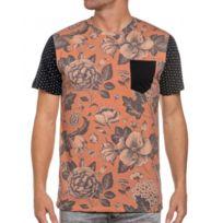French Kick - Tee-shirt homme à fleur et pois