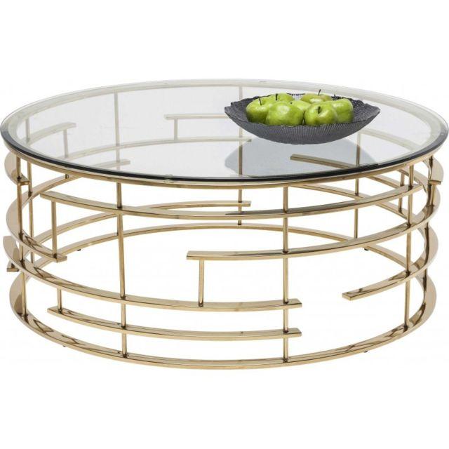 Karedesign Table Basse Ronde Jupiter 100cm Kare Design Pas Cher