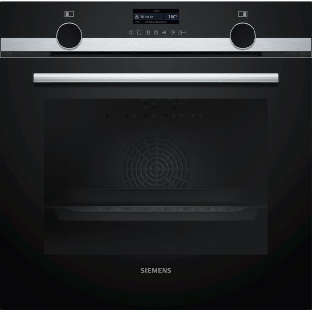 SIEMENS four intégrable multifonction 71l 60cm a pyrolyse inox - hb579gbs0